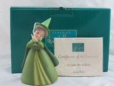 """WDCC """"A Little Bit of Both"""" Fauna from Disney's Sleeping Beauty in Box with COA"""