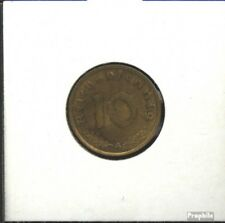 Duitse Rijk Jägernr: 364 1939 e Aluminium-Brons 1939 10 Reichspfennig Keizeraren