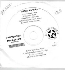 ALL STAR KARAOKE PRO ASK-1403B     MARCH 2014-8 SONGS-McCreery,Karmin,Pope &more