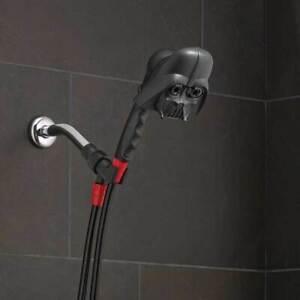 NEW: Oxygenics Disney Star Wars Darth Vader Handheld Shower Head 3 Spray Setting