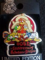 Disney WDW Saludos Amigos 60th Anniversary Donald Jose 3D Pin htf j22