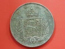 BRASIL - 2000 REIS - REY PETRUS II - AÑO 1854