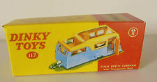 Repro Box Dinky Nr.117 Four Berth Caravan