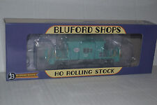 Bluford Shops 34231 IHB Green Short Roof Transfer Caboose Ho Scale