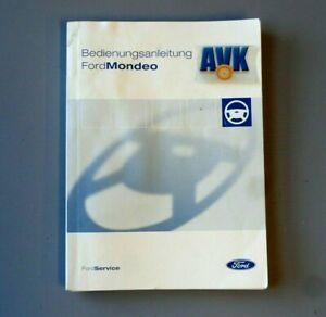 Betriebsanleitung Bedienungsanleitung CG3369 Ausgabe 2004 Ford Mondeo III