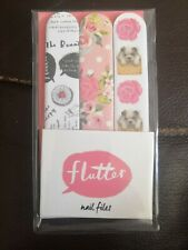 Flutter Nail Files X 3 *Never Used*