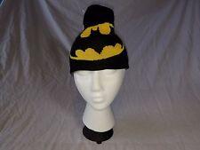 Batman Reversible Winter Hat Black/Gray--NWT