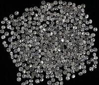 Natural Loose Diamond Round G-H Color I1-I3 Clarity 25 Pcs Lot NQ7