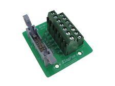 IDC14 14-Pin Connector Signals Breakout Board Screw terminals Din