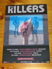 THE KILLERS - 2018 AUSTRALIA TOUR - WONDERFUL WONDERFUL - Laminated Tour Poster