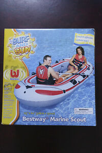 NEW Bestway Marine Scout Inflatable Boat -318cm x 152cm