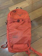 Used Once Osprey Packs Kamber 16 Men's Ski Backpack Ripcord Red