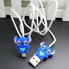 USB Data Cable Charger Cable Sync Cord with Stich Charm for iPhone 5C/5S/6/6plus