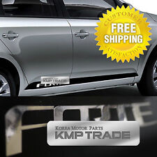 Sports Door Line Decal Sticker Black Chrome For KIA 2009-2012 Cerato Forte Sedan