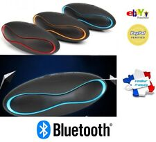 Mini Enceinte Bluetooth Portable Carte Micro SD Câble USB Samsung Apple Android