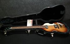 Hofner HCT 500/1 BEATLE BASS & CASE GREAT VINTAGE LOOK RARE Light Brown Burst