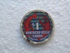 $1 NORTHERN BELLE CASINO  WINDSOR  ONTARIO CANADA