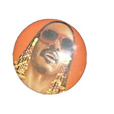 Stevie Wonder Vintage Pin 1983