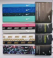 Nike Hairbands Headbands Genuine Assorted 3 Pack One Size Head Band Gym Sport