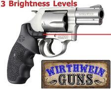 HOGUE Laser Enhanced (LE) S&W BLACK Round Butt J-Frame Grips 60080 Smith Wesson