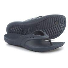 CROCS Kadee Flip Flop Sandals, Women's Size 9 Navy NWT FREE USA SHIPPING