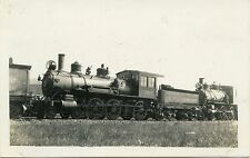 6A527 RPPC 1924 ATLANTIC COAST LINE 1263 WAYCROSS GA xJAX TAMPA & KEY WEST RR 23