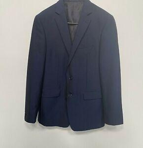 Calvin Klein Slim Fit Suit Jacket In Dark Blue- Size 100S