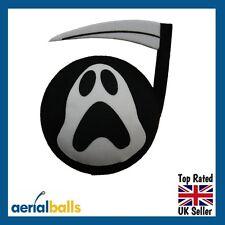 Grim Reaper Car Aerial Ball Antenna Topper