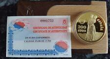 200 euro 1997 ORO. ZAPADORES. HOMENAJE AL EJÉRCITO DE TIERRA ESPAÑOL. 34,55 gr.