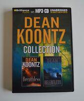 Dean Koontz - Collection: Breathless & Relentless - MP3CD Audiobook