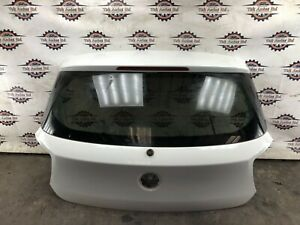 2012 BMW 1 SERIES 116i F20 5DR HATCHBACK REAR TAILGATE IN WHITE 7305470