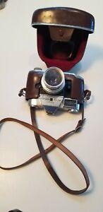 Vintage Kodak Retina Reflex IV Camera W Case & Strap