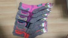 6 Pairs Slazenger Womens long Socks for Hiking/Climbing/Outdoors Sport Coolmax