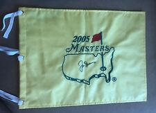 Jack Nicklaus 2005 Masters PGA US Open Ryder Cup Golf Pin Flag Tiger Woods