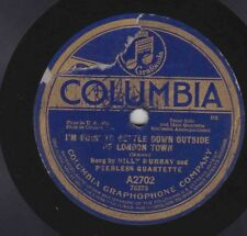 Billy Murray on 78 rpm Columbia A2702: The Alcoholic Blues/I'm Going to Settle