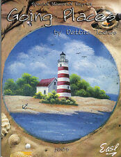 Going Places Special Memorial Reprint Tole Book by Debbie Toews