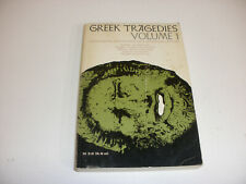 Classic Softcover Book Greek Tragedies Vol.1 from 1967