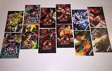 E3 PAX SNK KING OF FIGHTER SAMURAI SHOWDOWN MURAMASA PROMO ART CARD COMPLETE SET