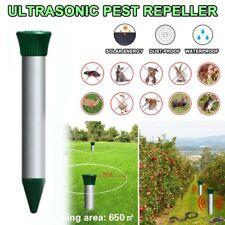 Ultrasonic Animal Repeller Waterproof Snake Repeller Animal Mouse Repellent H