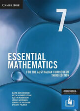 NEW Essential Mathematics for the Australian Curriculum Year 7 By David Greenwoo