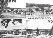 AK, Wehrsdorf Kr. Bautzen, vier Abb., 1972