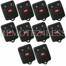 10 New 3 Button Replacement Keyless Entry Remote Key Car Fob Beeper for Ford
