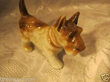 Schnauzer Porcelain Dog Figure Vintage Figurine