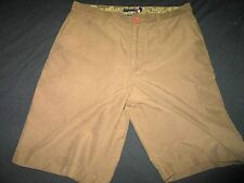 Quiksilver mens light weight board shorts casual shorts brown size 33
