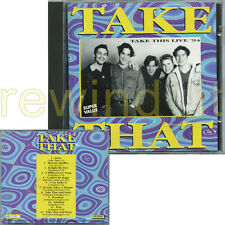 "TAKE THAT ""TAKE THIS LIVE '94"" RARE CD ITALY 1994"