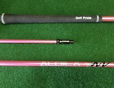 NEW PINK ALDILA NV 55 R REGULAR LONG DRIVE  SHAFT FITS PING G AND G30 DRIVERS