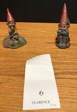 2 Tom Clark Cairn Gnomes Eddie Clarence Seminar Series Resin Figurine