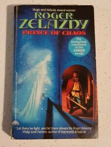 Prince of Chaos By Roger Zelazny Chronicles of Amber Book #10 Vintage Paperback
