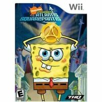 Spongebob's Atlantis Squarepantis - Original Nintendo Wii Game