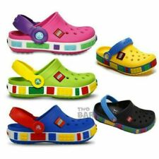 AU Girls Boys Le Go Cros Shoes Crocband Clogs Flip Kids Beach Water Sandals Gift